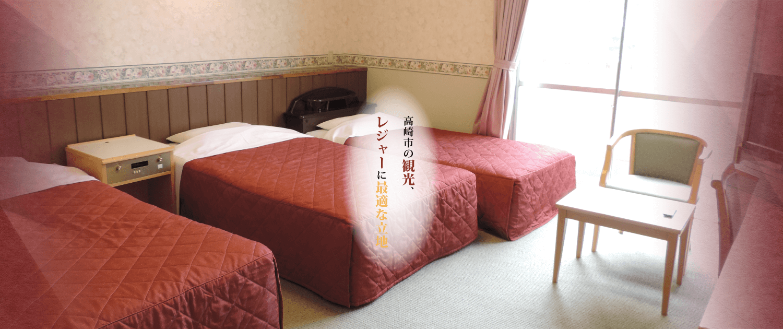 高崎ビジネスホテルの客室